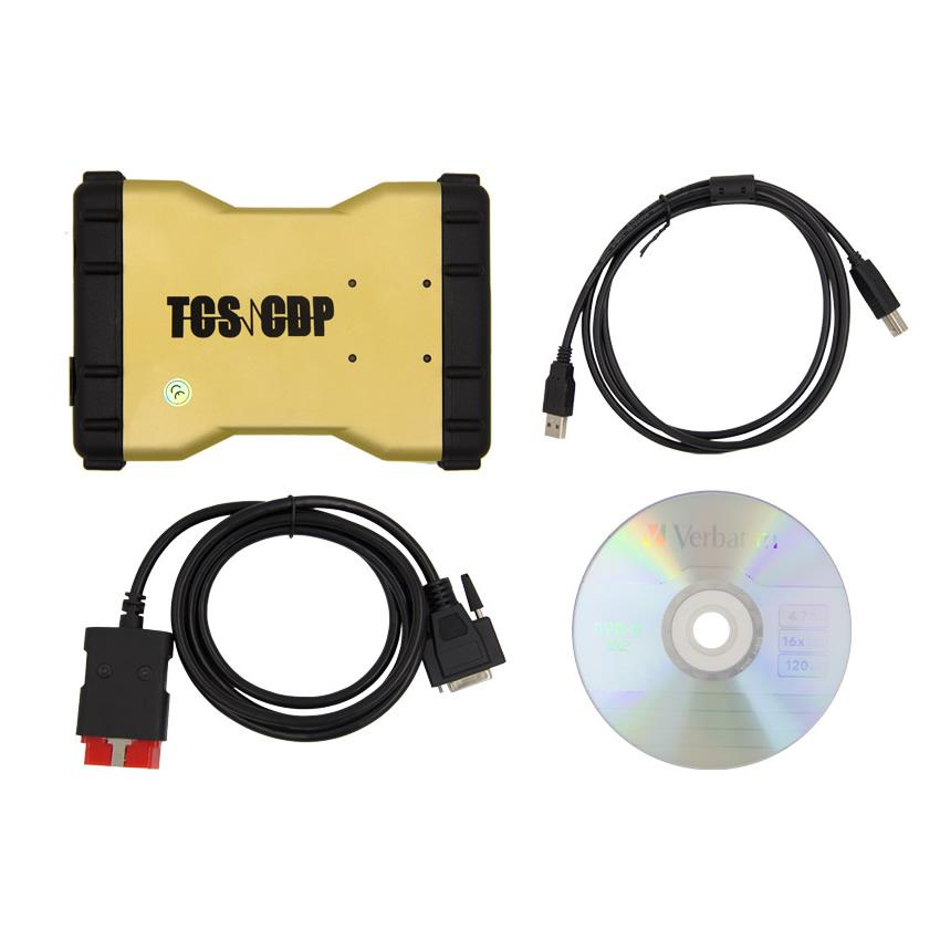 Promotion V2015.3 Neue TCS CDP + Auto Diagnostic Tool Gelbe Version mit Bluetooth
