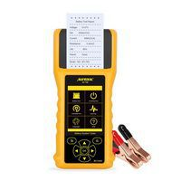AUTOOL BT760 12V 24V Car Battery Tester 10-2200CCA Car Battery Analyzer Quick Cranking Charging Diagnostic mit Thermodrucker