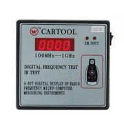 CARTOOL Digital Frequency Tester IR Tester Remote Key Frequency Tester (Frequency Range 100 -1GMHZ)