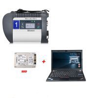 DOIP MB SD C4 PLUS Connect Compact C4 Star Diagnose mit 2020.03 Software SSD Plus Lenovo X220 I5 4GB Laptop