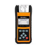 FOXWELL BT780 12V Batterietest 0 -1000A Car AGM GEL EBP Akkus Analyzer Eingebaute Drucker 12V -24V Startladesystem