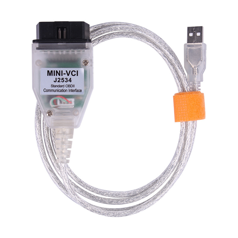 MINI VCI for TOYOTA J2534 V14.20.019 Single Cable Support Toyota TIS OEM Diagnostic Software
