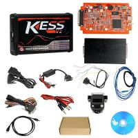 Promotion Kess V2 V5.017 EU Version SW V2.47 with Red PCB Online Version Support 140 Protocol No Token Limited