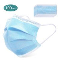 100pcs Disposable Protective Mask 3-Schichten Sichere Atembare Mundmaske CE Certified Personal Protection