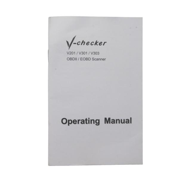 V -CHECKER V301 OBD2 Professional CANBUS Code Reader