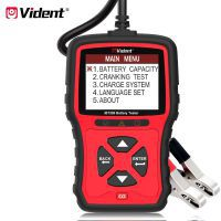 VIDENT iBT200 9V-36V Battery Tester für 12V Pkw und 24V Heavy Duty Trucks 100 bis 2000CCA Car Battery Analyzer