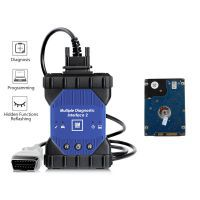 WIFI GM MDI 2 Multiple Diagnostic Interface mit V2019.4 GDS2 Tech2Win Software Sata HDD für Vauxhall Opel Buick und Chevrolet