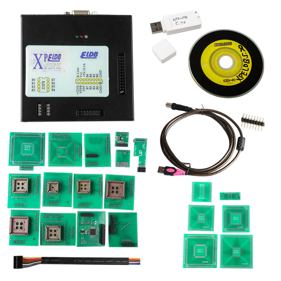 XPROG -M V5.74 X -PROG Box ECU Programmer mit USB Dongle