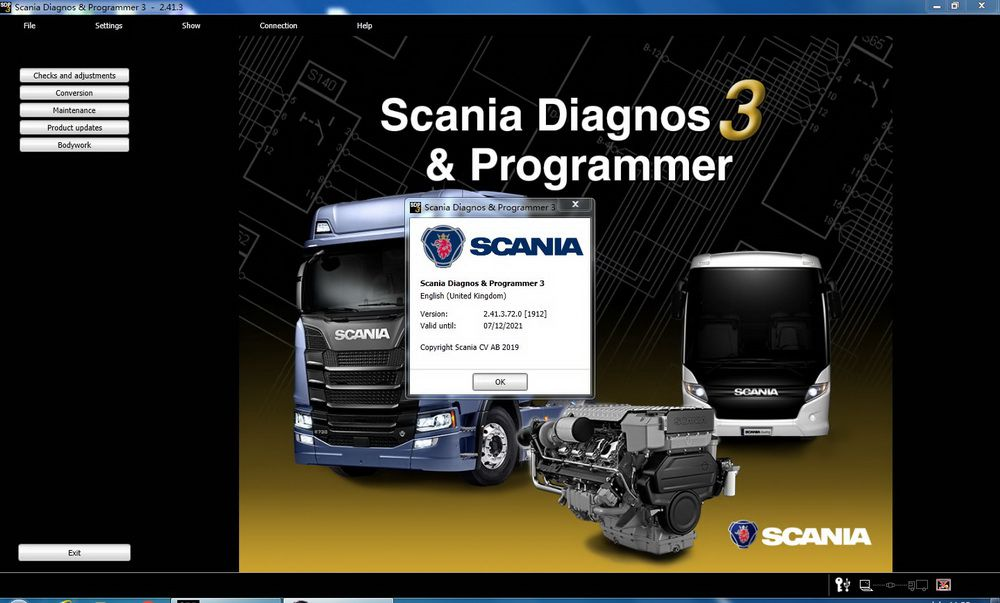 V2.41.3 Scania SPD3 for VCI-3 VCI3 Scanner