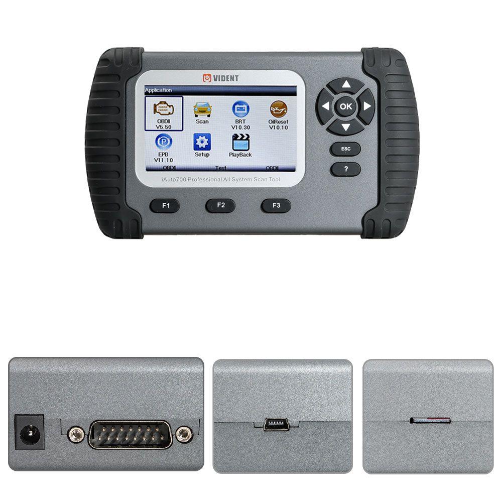 VIDENT iAuto20 Professional Car Full System Diagnostic Tool